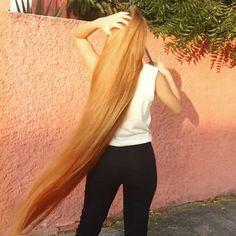 video Long Black Hair, Very Long Hair, Beautiful Long Hair, Gorgeous Hair, Red Hair, Blonde Hair, Rapunzel, Long Hair Video, Hair Growth Tips
