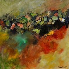 "Saatchi Art Artist: Pol Ledent; Oil 2014 Painting ""abstract 6611604"""