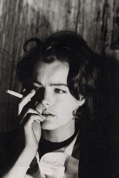 Romy Schneider dans Le procès, 1962.