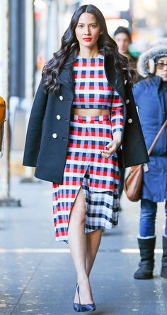 Olivia Munn Has the Best Street Style Inspo, and Here's the Proof - January 13, 2016  - from InStyle.com