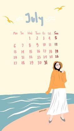 Wallpaper Wa, Calendar Wallpaper, Aesthetic Pastel Wallpaper, Aesthetic Wallpapers, Calendar Quotes, Study Motivation Quotes, Calendar 2020, Kawaii Art, My Books