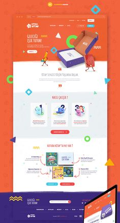 Kutuda Kitap Website on Behance Website Design Inspiration, Best Website Design, Website Design Layout, Homepage Design, Web Ui Design, Newsletter Design, Web Design Trends, Web Layout, Homepage Web