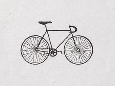 "Bicycle Stamp ""Fixed"" door deKrantenkapper op Etsy https://www.etsy.com/nl/listing/105323672/bicycle-stamp-fixed"