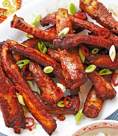 Meaty ribs with a gorgeously sticky marinade, so more-ish they're sure to be a big hit with the family | Tesco