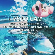 free filter | a vibrant blue filter that looks good with pictures with water | it is also good with summer pictures as well backup: @randomfltrs