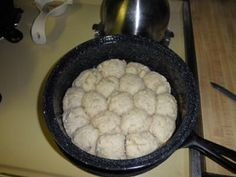 Solar Oven Sour Dough Biscuits