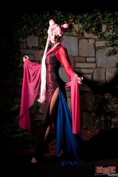 Black Lady, cosplayed by Katie George