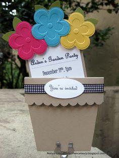 Canopy Crafts: Arden's Garden Party