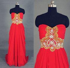 pretty red prom dress, #prom, #prom2k16