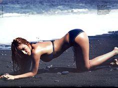 Lee Hyori photoshoot for Cosmopolitan 2010.