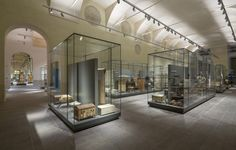 The Egyptian Museum in Turin houses the second biggest collection of Egyptian antiquities in the world, after the museum in Cairo. The anti-reflective extra clear glass Pilkington OptiView™ Protect OW has been chosen to protect ancient discoveries. Photography: Pino & Nicola Dell'Aquila
