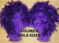 Custom Colored Feathered Wings Child's size  by TexasAngelWings, $32.00
