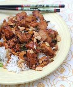 Kung pao chicken recipe kung pao chicken chef michael smith and kung pao chicken chinese food recipesasian forumfinder Image collections