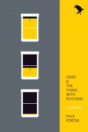 A very fast read. Incredible debut. Grief Is the Thing with Feathers, Max Porter.
