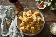 Pasta With Marinated Artichoke Sauce Recipe on Food52, a recipe on Food52 Easy Pasta Sauce, Pasta Sauce Recipes, Pasta Sauces, New Recipes, Dinner Recipes, Popular Recipes, Vegan Recipes, Favorite Recipes, Bon Appetit