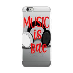 Music is Bae iPhone 5/5s/Se, 6/6s, 6/6s Plus Case