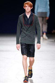 Kolor Spring 2015 Menswear Collection - Vogue