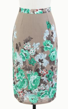 Tulle Ivy Terrace Pencil Skirt | Vintage Inspired Skirt | - Tulle4Us.com