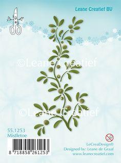 LeCrea - Clear stamp Mistletoe 551253 (09-15)   Craft Emotions