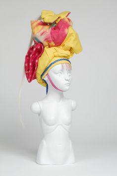 "Chizu, a ""porcelain soldier"", sculpture by Lauren Brevner (September 2014)"