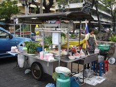 Thai street food stalls. So delicious and fresh