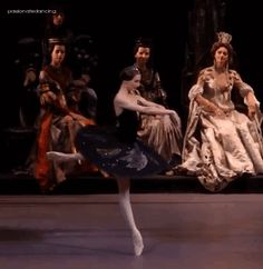 Svetlana Zakharova as Odile in Bolshoi's Swan Lake