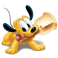 Pluto The Dog Clip Art - Disney And Cartoon Baby Images