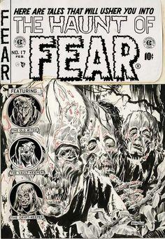Graham Ingels: The Haunt of Fear #17