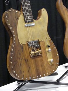 Hand crafted guitar by Italian luthier Paoletti