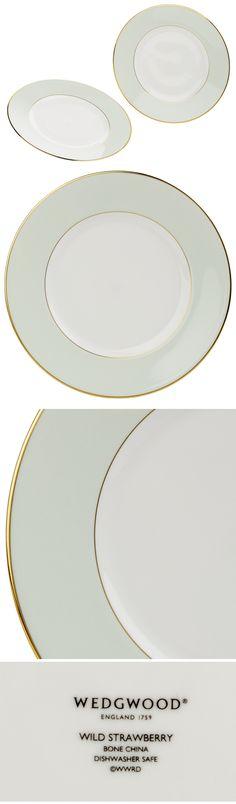 [Wedgwood:웨지우드] Wild Strawberry Plate Green, S/2