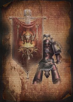 Warhammer 40k Horus Heresy Word Bearers Standard Bearer