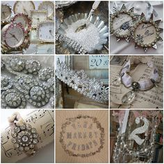 Sparkle & Glitter Inspiration Board