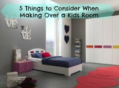 To me, it should be clear that kids can thrive and are welcome here, but look like a home, NOT a daycare center! Here a 5 things to keep in mind for design.