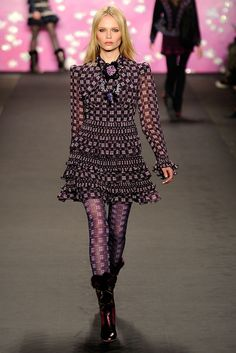 Anna Sui - Fall 2009 Ready-to-Wear