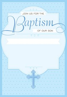 Baptism Invitation Template Free Download Koran Sticken Co