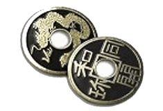 El poder de las piedras preciosas: Las monedas chinas Feng Shui, Tattoo, Personalized Items, White Magic, Charms, Japanese Tattoos, Tattoos, Tattoo Illustration, A Tattoo