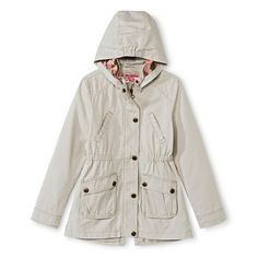 Girls' Trench Coat - Khaki 10/12 : Target