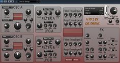 4TO2 free VST subtractive synthesizer plugin for Windows (32 bit). http://www.vstplanet.com/News/2016/gyl-synths-releases-4to2-free-vst-synth.htm