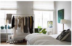 Ideias para um closet barato.