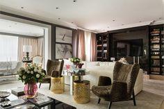 Apartamento Lala Rudge; tamboretes; home; mesa centro