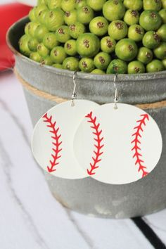 BASEBALL leather earrings are a HUGE hit! These adorable baseball leather earrings are the perfect accessory to your fashionable outfit! Whether you love the classic teardrop, round, or a heart shaped earring, you can't go wrong with any of these choices! These Baseball leather earrings are sure to turn heads as you're cheering on your favorite Baseball team! Click through to view even more Baseball leather earring options! #baseballleatherearrings #baseballmomearrings #sportsleatherearrings Heart Shaped Earrings, Round Earrings, Fashion Jewelry, Women's Fashion, Baseball Mom, Leather Earrings, Handmade Shop, Heart Shapes, Choices