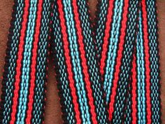Flat Weave | Portfolio Galleries | Weaver Guitar Straps - Play With Color!