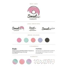 Brand book for Kept the fun and went with Sumayah's inspired unicorn colour theme 🦄 Let me know what you think of this look &… Brand Book, Color Themes, Peony, Thinking Of You, Unicorn, Typography, Colours, Let It Be, Inspired