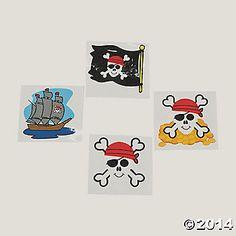 Pirate Tattoos