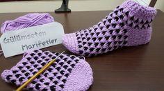 Tasarım Minik ters kalpler bot patik yapımı (1.bölüm crochetbooties)