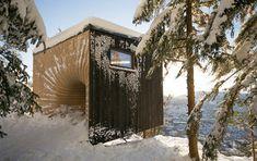 "Tubakuba Mountain Hub by OPA Form  ""wooden bubble"""