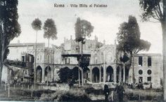 Villa Mills al Palatino Anno: Inizi 1900 Rome, Villa, Painting, Pictures, Painting Art, Paintings, Painted Canvas, Fork, Villas