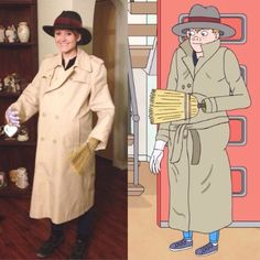 Vincent Adultman from BoJack Horseman: | 26 Insanely Clever Halloween Costumes Every TV Lover Will Want