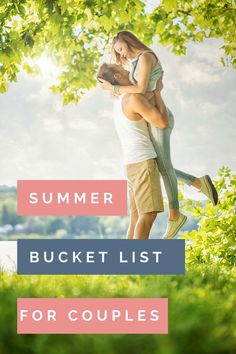 Ready to get in some good quality time with your spouse this summer? This summer bucket list for couples is the perfect way to do that. summer bucketlist couples marriage marriageadvice summer date ideas 357543657912307054