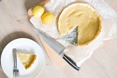 Overheerlijke Kokos Taart met Lemon Curd - Blij Suikervrij My Pie, Tasty Dishes, Camembert Cheese, Sugar Free, Recipies, Cheesecake, Low Carb, Sweets, Baking